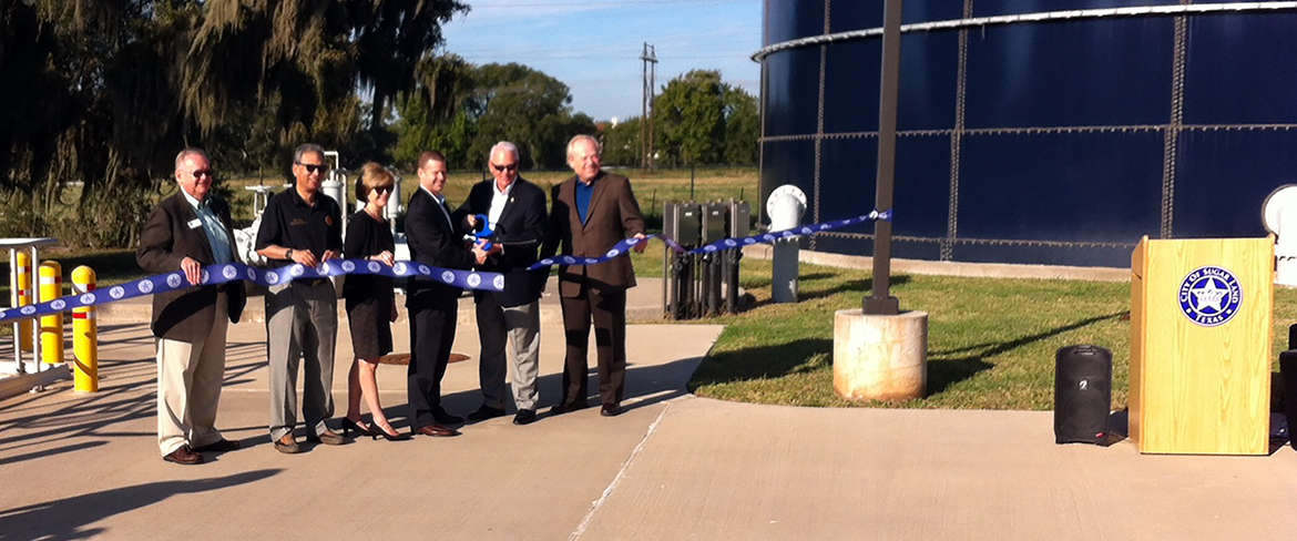 SUGAR LAND OPENS RECLAIMED WATER FACILITY