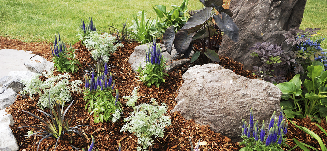 HIGH QUALITY, AFFORDABLE COMPOST & MULCH REDUCES MATERIAL IN LANDFILLS
