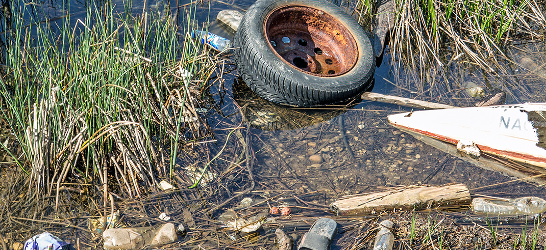 ILLEGAL DUMPING IS THREAT TO WATER, ENVIRONMENT AND HEALTH