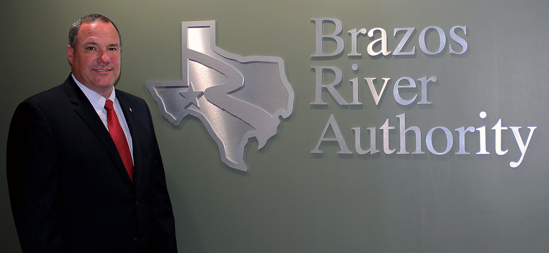 David Collinsworth:  Brazos River Authority's new General Manager/CEO