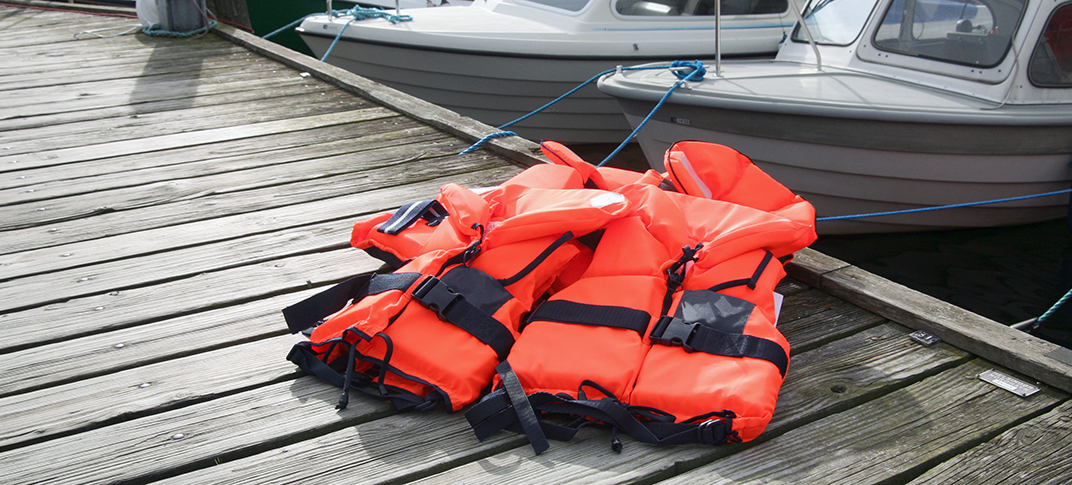 Life jackets are the only answer, not an option