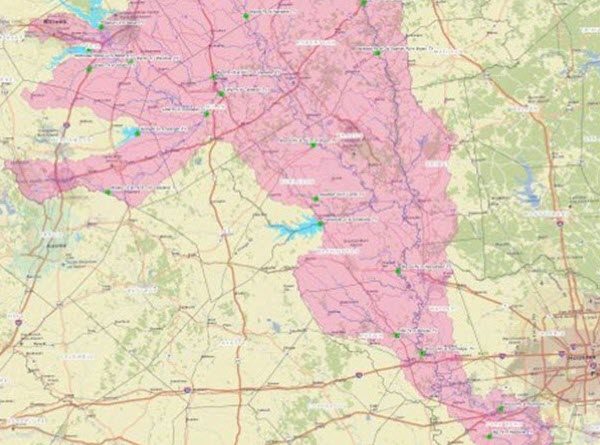 Lower Brazos Floodplain Study Draft Report