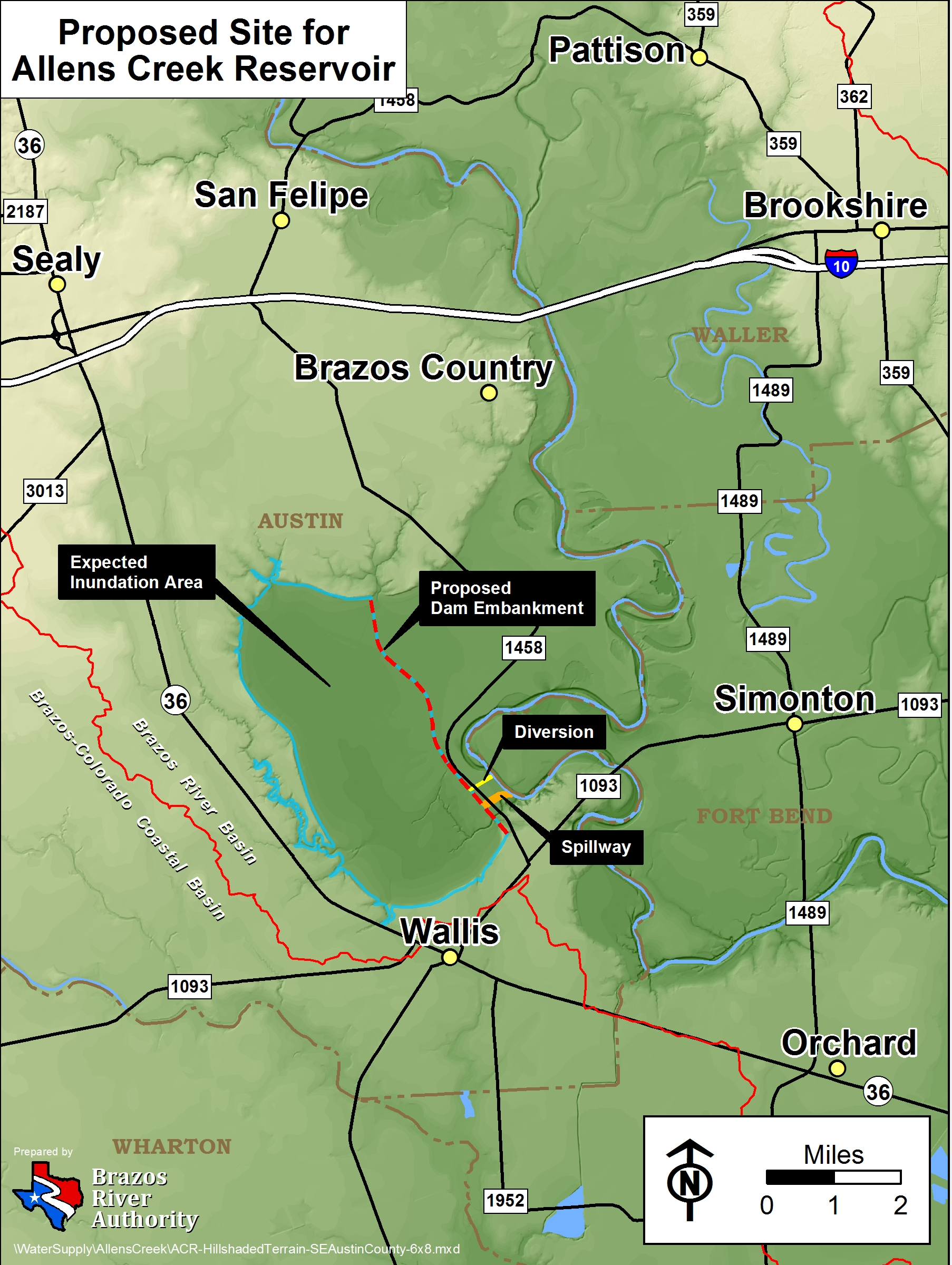 The Brazos River Authority Gt About Us Gt Reservoirs