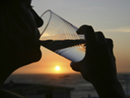 What types of contaminates can be found in drinking water?